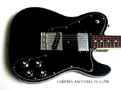 black 72 telecaster custom