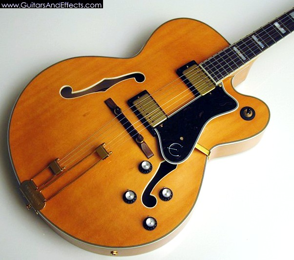 Gibson Hollow Body Jazz Guitars It's a Hollow Body Guitar