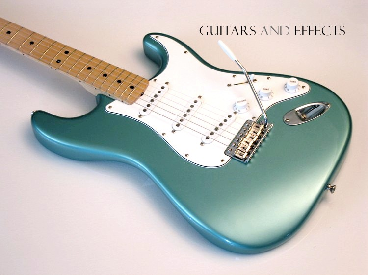 Wts Fender Mia 1997 Roadhouse Stratocaster In Teal Green