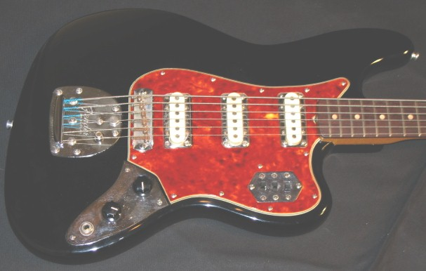 The Unique Guitar Blog: The Fender VI (six string bass)