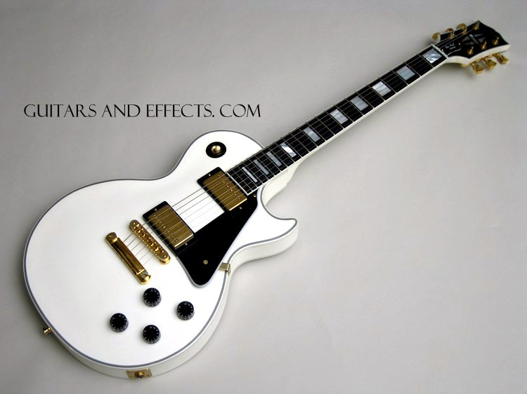 Gibson Les Paul White Wallpaper Traffic Club